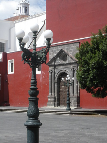 Church of Santo Domingo in Puebla