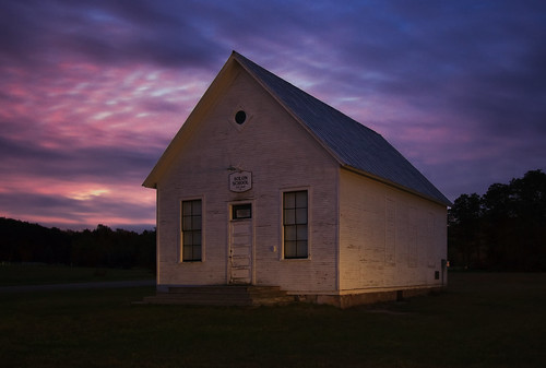 wood school light sky colors beautiful mi sunrise dark dawn one shadows michigan room schoolhouse predawn solon dlws johncrouch johncrouchphotography gettysubmitted crouchphotos