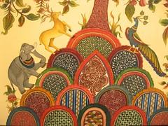 A painting at a kalamkari exhibition | by Anuradha Sengupta
