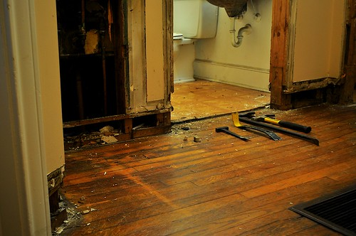2012-02-04 Bathroom demolition 07 | by ericdodds