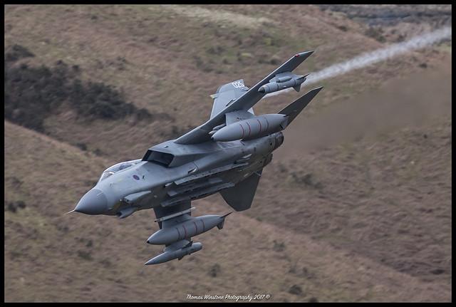 RAF Tornado GR4 Monster Flight