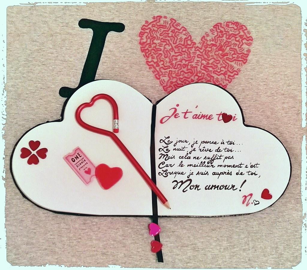 Je Taime De Tout Mon Cœur French Print Lets Speak French
