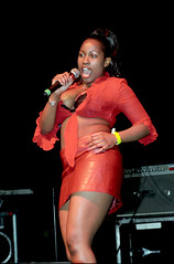 Zimbabwe African Girl Singer Performing at the Brenda Fassie Show the Stratford Rex London Dec 21 2001 003