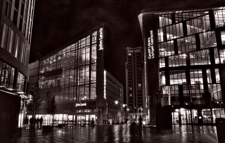 Cardiff,Cardif,library,john,lewis,glass,building,buildings,night,tripod,low,light,dusk,available,BW,black,white,tonysmith,tony,smith,hotpix,hotpixuk,TDKTony,TDK,new,Caerdydd,Cymru,Gymru,welsh,architecture,urban,city,HotpixOrgUK,south Wales,south,M4,celtic,britain,river,Taff,suburban,capital,st,Davids,2,Davids2,development,central,Mill,Street,triangular,footprint,triangle,BREEAM,excellent,rating,365days,www.thewdcc.org.uk,thewdcc.org.uk,wdcc.org.uk,Warrington,society,District,Camera,club,photographic,photography,SLR,DSLR,group,GYCA,Bellhouse,bellhouse Club,HDR,high dynamic range