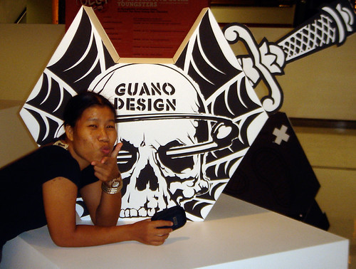GUANO at jelly papertoy show | by GUANOdesign