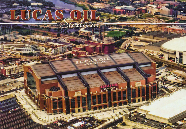 Lucas Oil Stadium Postcard