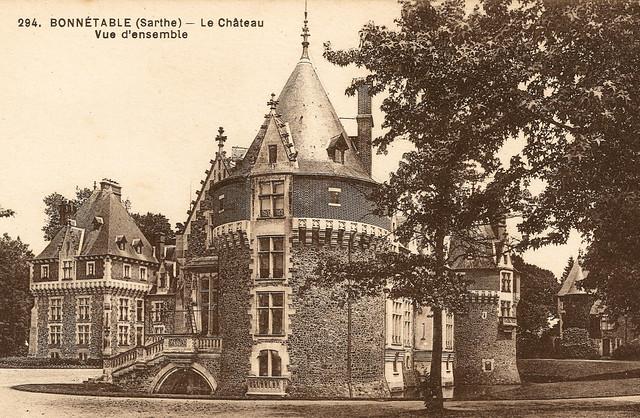 Bonnétable - Le Château - Vue d'Ensemble