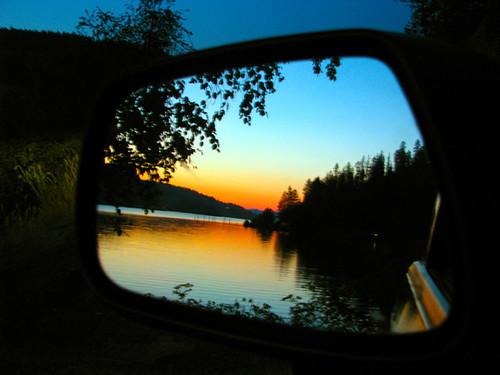 mirror idaho coeurdalene lakecoeurdalene wolflodgebay jakedonahue