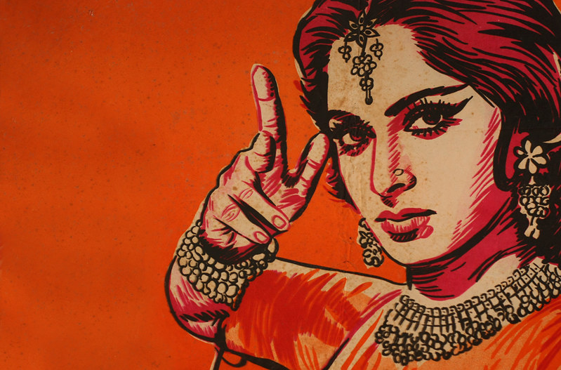 Bollywood Poster Detail