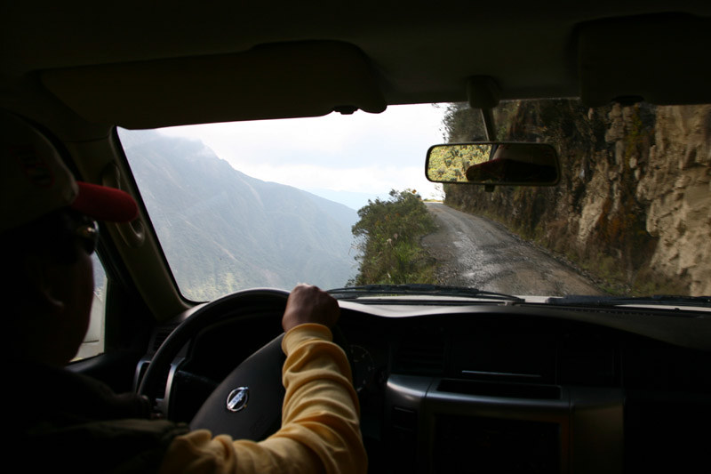 4X4 - Death Road, La Paz-Coroico, Bolivia