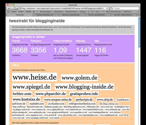 Twextrakt für blogginginside | by schoschie