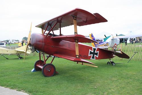 G-FOKK Fokker Dr.1 (Replica) [PFA 238-14253] Sywell 030911