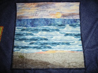 Summer Time quilt front