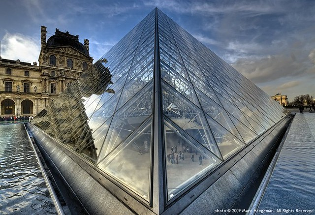 The pyramids of the Louvre