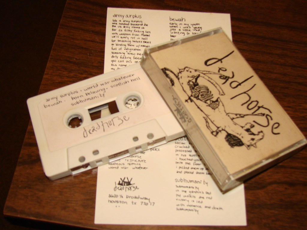 first dead horse demo tape 1988 | this is the first version