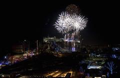 Fireworks display Edinburgh