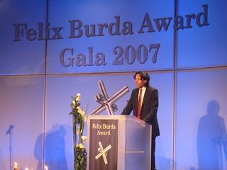 Cherno Jobatey beim Felix Burda Award 2007 | by Jobatey