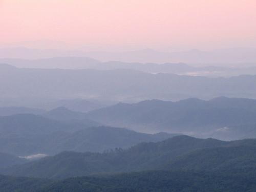 sunrise northcarolina grandfathermountain westernnorthcarolina southernappalachians ccbyncsa naturephotographyweekend canonpowershotsx10is