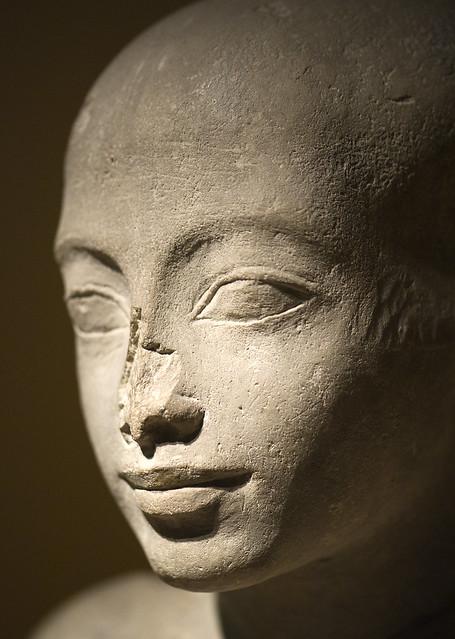 Tomb statue of luty (RMO Leiden, Egypt Sakkara; 19d, royal personal physician)