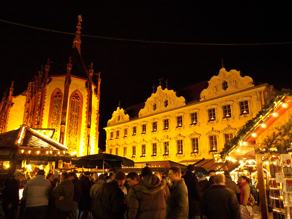 Weihnachtsmarkt Würzburg.Weihnachtsmarkt Würzburg Matthias Wicke Flickr