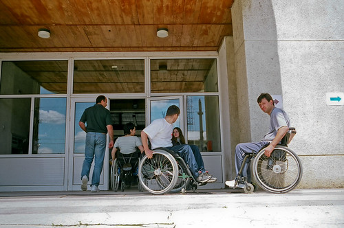 Men and women with disabilities attend classes | by World Bank Photo Collection