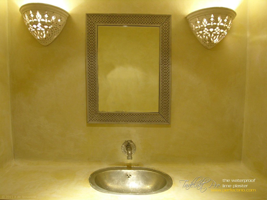 Salle de Bain - Bathroom Tadelakt | Salle de bain en Tadelak ...