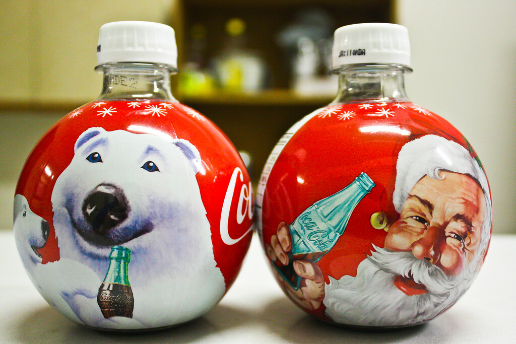 Coca Cola Christmas Bottle.Coca Cola Christmas Ball Ornament Bottles 2009 If You Ar