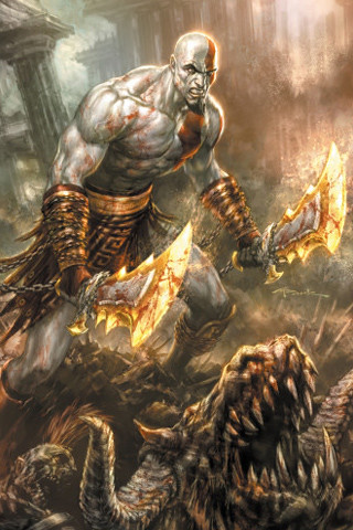 God Of War Iphone Wallpaper Click Here For More God Of War