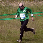 Adrian Taylor, Devon OC, finish run-in at Kinnoull Hill