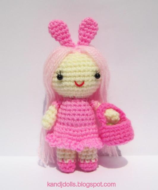 Baby Bunny Ears - CrochetObjet   640x532
