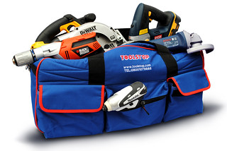 Toolbag with power tools | by toolstop