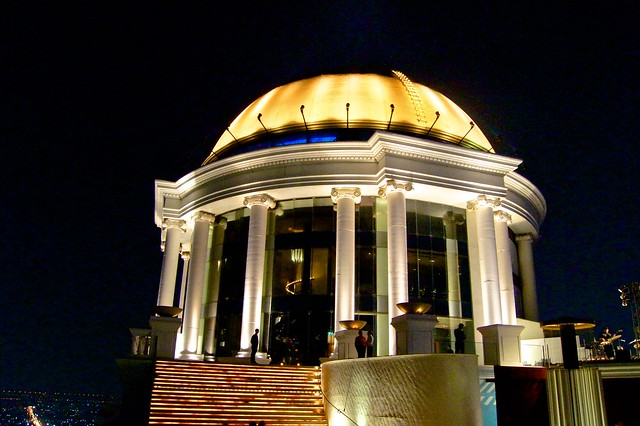 The Dome on top of Bangkok State Tower