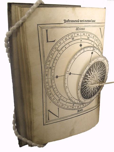 Instrument with volvelles from Regiomontanus: Kalendarium