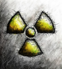 Sketchy Nuclear symbol | by Truthout.org