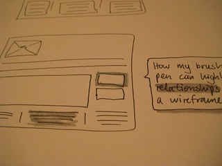 Wireframe with colour: the brush pen effect | by Rob Enslin