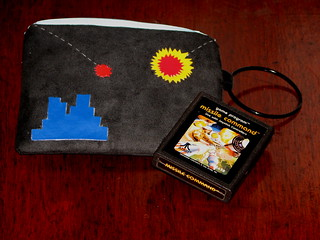 Missile Command wallet & wristlet | by Niles Z