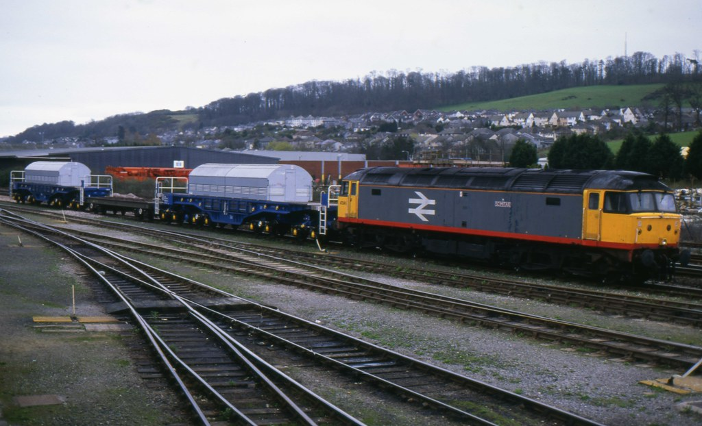 Class 47 47345 Plymouth April 94