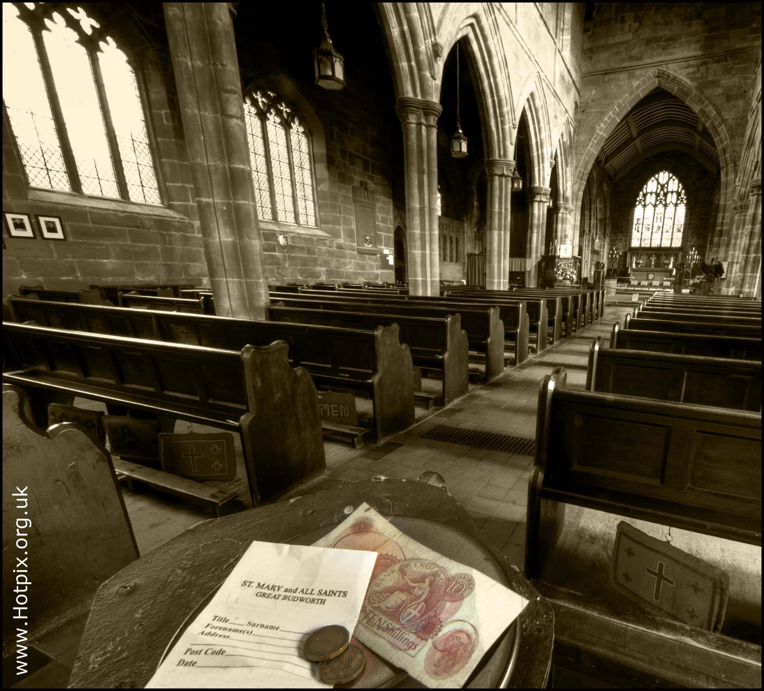 church,collection,plate,coins,notes,pound,money,ten,shilling,note,wide,angle,tripod,sepia,black,white,monochrome,selective,colour,old,three,penny,bit,3D,thripney,biy,threepenny,envelope,great,budworth,st,marys,cheshire,northwich,england,uk,gb,hotpix,tonysmith,tony,smith,LRPS,thrippence 3D 50p   thripp'nce,thrupp'nce,threpp'nce  thripp'ny bit  thrupp'ny bit,threpp'nce,thripp'ny,thrupp'ny bit,50p,50pence,B/W,mono,partial,mixed,color,HDR,high dynamic range,interior,inside,stuff,12-24,sigma,wide angle lens,building,buildings,built,architecture,selectivo,couleur,s\u00e9lective,vorgew\u00e4hlte,Farbe,sex,sexy