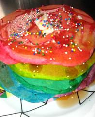 rainbow pancakes | by globochem3x1minus1