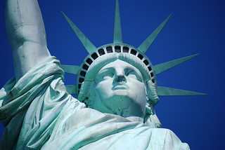 NY Statue of Liberty   by Celso Flores