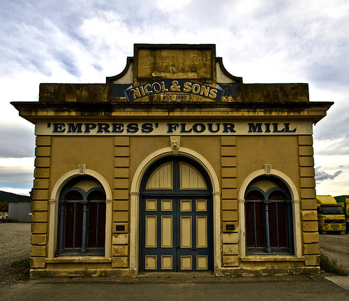 Empress Flour Mill, Waimate.