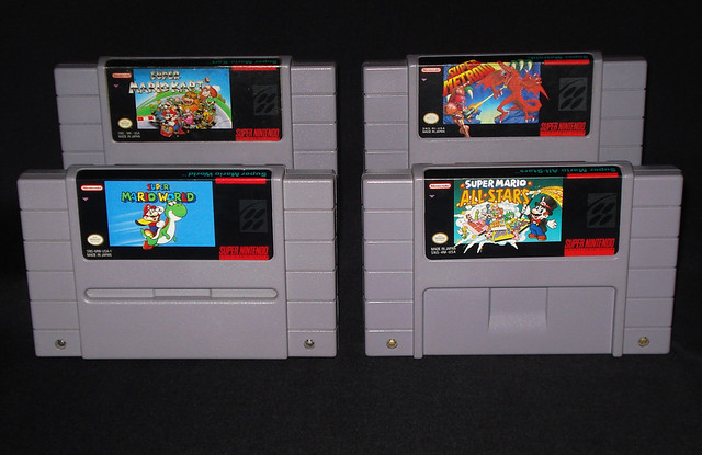 Super Mario World - Super Mario All Stars - Super Mario
