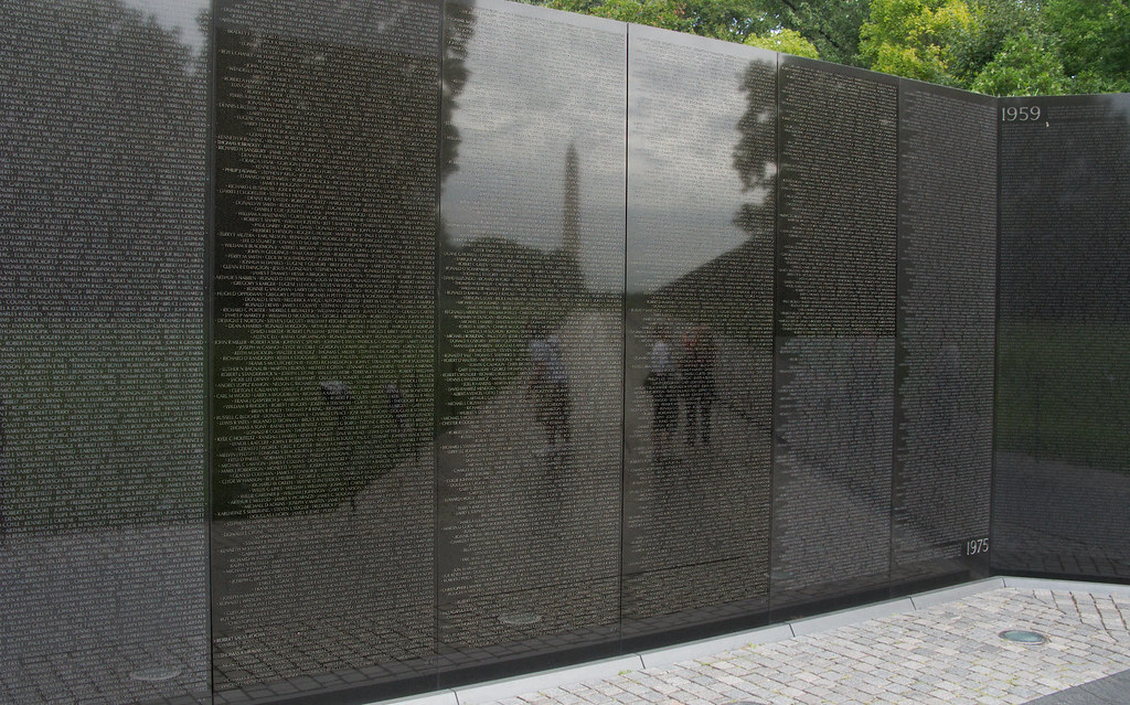 7277 Vietnam Memorial, Washington, DC by John Prichard