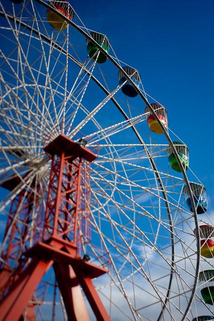 Sydney: Luna park wheel