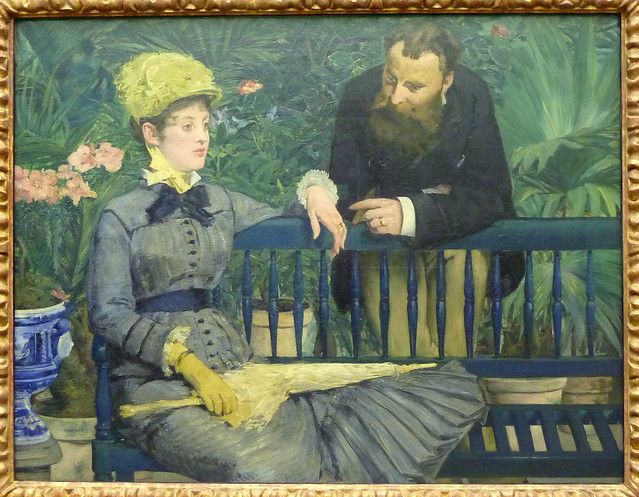 Edouard Manet: In the conservatory (1879)