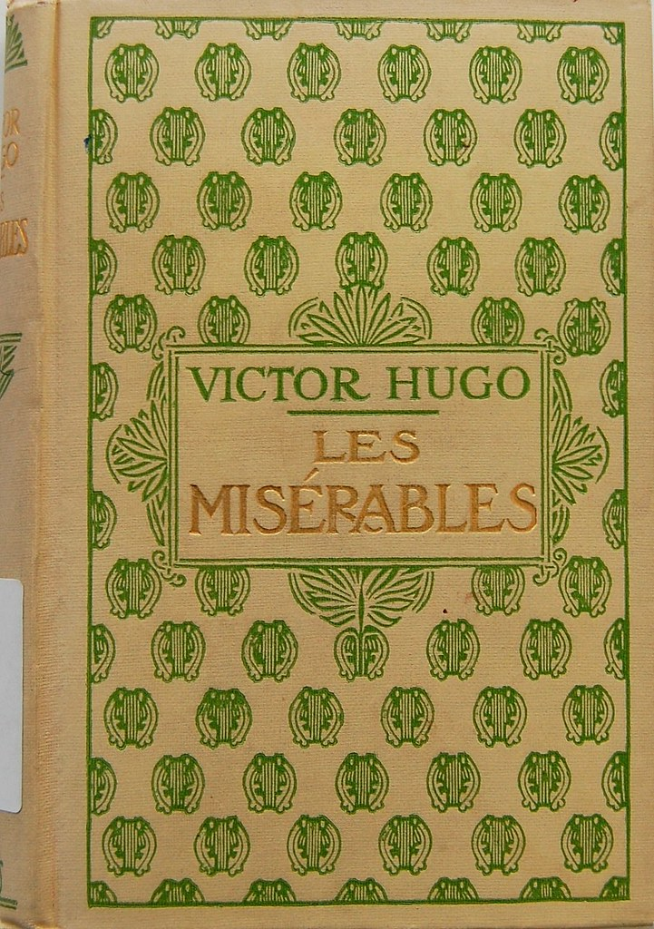 Image result for les miserables victor hugo book cover