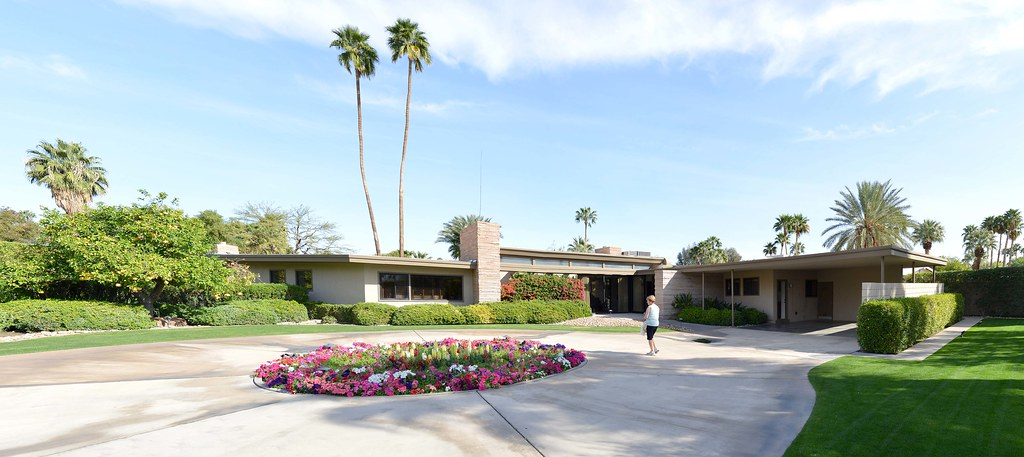 Frank Sinatra S Twin Palms Home Palm Springs 2014 Flickr