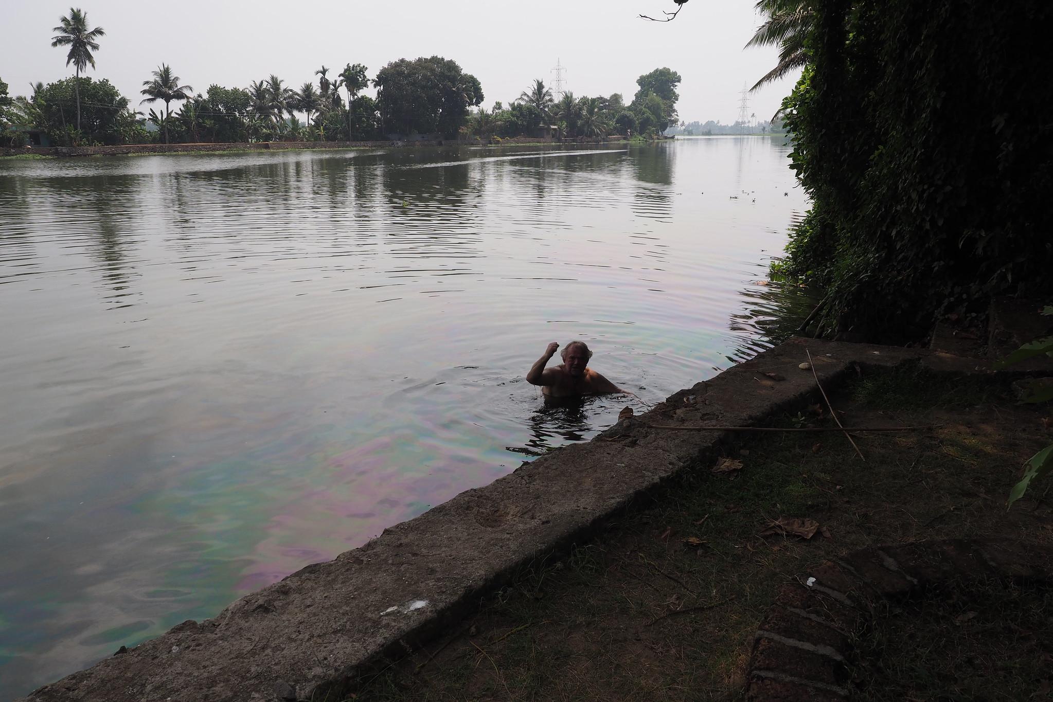 Indien, Keral, - Backwaters
