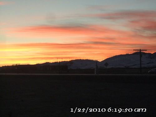 california usa sunrise kern tehachapi windenergy