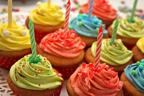 Birthday Cupcakes | by planbnet